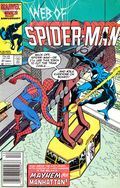 Web of Spider-Man (1985 1st Series) Mark Jewelers 21MJ
