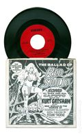 Ballad of Red Sonja 45 RPM Record (1976) 1R