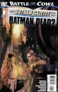 Gotham Gazette Batman Dead (2009 DC) 1