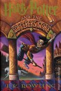Harry Potter and The Sorcerer's Stone HC (1998 Scholastic Novel) By J.K. Rowling 1-1ST