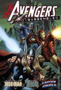 Avengers Disassembled Iron Man, Thor, and Captain America HC (2009 Marvel) 1-1ST