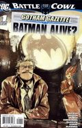Gotham Gazette Batman Alive (2009 DC) 1