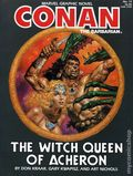 Conan the Barbarian The Witch Queen of Acheron GN (1985 Marvel) 1S-1ST