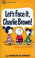Let's Face It, Charlie Brown PB (1960 Fawcett) 1-1ST