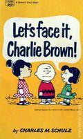 Let's Face It, Charlie Brown PB (1960 Fawcett) 1-REP