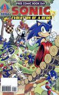 Sonic the Hedgehog Evolution of a Hero (2009) FCBD 0