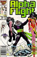 Alpha Flight (1983 1st Series) Mark Jewelers 37MJ