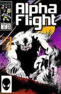 Alpha Flight (1983 1st Series) Mark Jewelers 45MJ