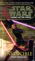 Star Wars Legacy of the Force Invincible PB (2009 Del Rey Novel) 1-1ST