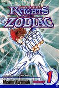 Knights of the Zodiac GN (2003-2009 Viz Digest) 1-1ST