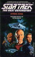 Star Trek The Next Generation Strike Zone PB (1989 Pocket Novel) 1-1ST