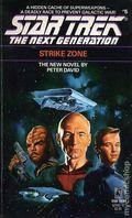 Star Trek The Next Generation Strike Zone PB (1989 Pocket Novel) 1-REP