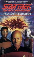 Star Trek The Next Generation The Eyes of the Beholders PB (1990 Pocket Novel) 1-1ST