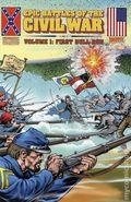 Epic Battles of the Civil War GN (1998 Historical Comics) 1-1ST
