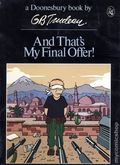 And That's My Final Offer TPB (1980 Doonesbury Classic) 1-1ST