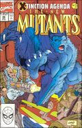 New Mutants (1983 1st Series) Mark Jewelers 96MJ