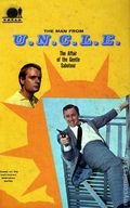 Man from U.N.C.L.E. Affair of the Gentle Saboteur HC (1966) 1-1ST