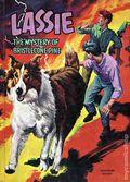 Lassie The Mystery of Bristlecone Pine HC (1967 Whitman) 1-1ST