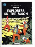 Adventures of Tintin Explorers on the Moon HC (1992 Pop-Up) 1-1ST