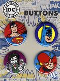 DC Comics Button Set (2010 Ata-Boy) SET-01