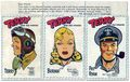 Terry and the Pirates Stamp Set (circa 1950s) STAMPS