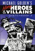 Michael Golden's Heroes and Villains Sketchbook HC (2008) 2B-1ST