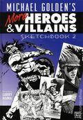 Michael Golden's Heroes and Villains Sketchbook HC (2008) 2A-1ST