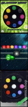 Blackest Night Power Ring Spectrum Set (2010 Green Lantern) SET-01
