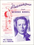 George Gobel Dallas Memorial Auditorium Program 0