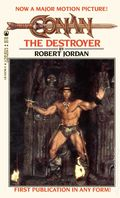Conan The Destroyer PB (1984 Tor Novel) 1-1ST