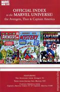 Official Index Marvel Universe Avengers Thor Capt. America 1