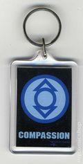 DC Comics Key Chain (1982-Present) INDIGO