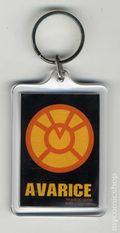 DC Comics Key Chain (1982-Present) ORANGE