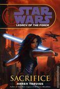 Star Wars Legacy of the Force Sacrifice HC (2007 Novel) 1B-1ST
