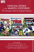 Official Index Marvel Universe Avengers Thor Capt. America 2