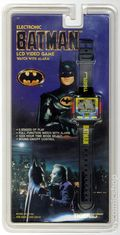 Batman Electronic Video Game Watch with Alarm (1989) BATMAN