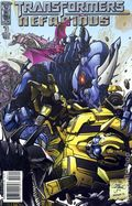 Transformers Nefarious (2010 IDW) 3B
