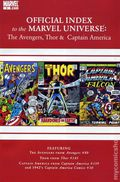 Official Index Marvel Universe Avengers Thor Capt. America 3