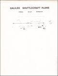 Galileo Shuttlecraft Plans (1981) 1981