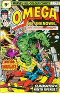 Omega The Unknown (1976) UK Edition 2UK