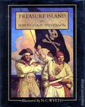 Treasure Island HC (1981 Scribner's Illustrated Novel) 1-REP