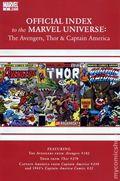 Official Index Marvel Universe Avengers Thor Capt. America 6