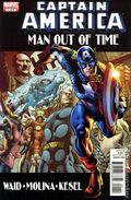 Captain America Man Out of Time (2010 Marvel) 1A