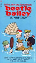 Beetle Bailey We're All in the Same Boat PB (1973 Tempo) 1-1ST