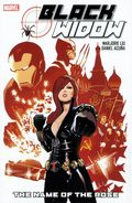 Black Widow The Name of the Rose HC (2010 Marvel) 1-1ST
