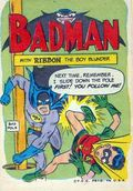 Badman with Ribbon the Boy Wonder (1967 Topps) Batman Parody 1