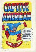 Captive American (1967 Topps) Captain America Parody 1