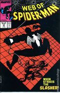 Web of Spider-Man (1985 1st Series) Mark Jewelers 37MJ