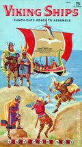Viking Ships Punch-Out Book 0