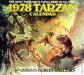 1978 Tarzan Calendar YR-1978